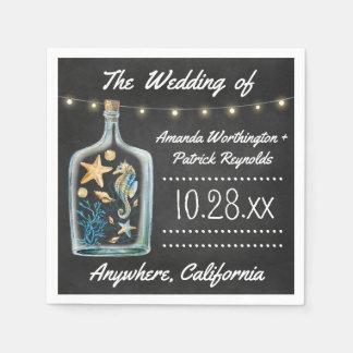Seetafelstarfish-Hochzeits-Servietten Servietten
