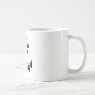 Segel-Boots-Anker Kaffeetasse