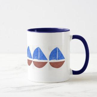Segel-Boots-Tasse Tasse