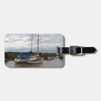 Segelboote auf dem Fluss Blythe Kofferanhänger