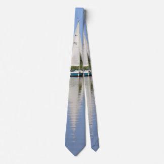 Segeln auf das Norfolk Broads Personalisierte Krawatte