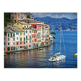 Segeln Portofino und die italienische Postkarte