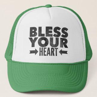 Segnen Sie Ihr Herz Truckerkappe