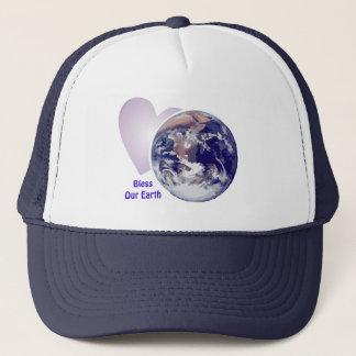 Segnen Sie unsere Erde Truckerkappe