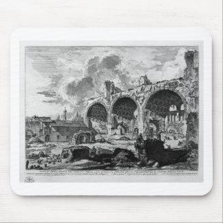 Sehen Sie die Überreste Nero ` s goldenen Hauses Mauspads
