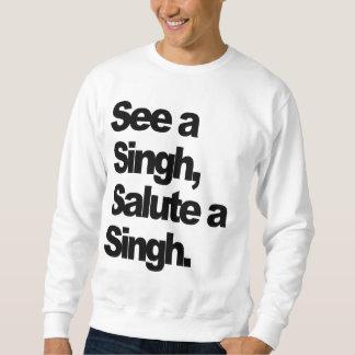 Sehen Sie ein Singh (ursprünglich) durch Sweatshirt