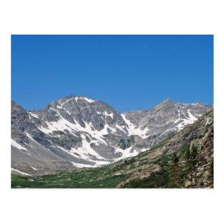 Sehen Sie von der blauen Seen-Monte Cristo Postkarte