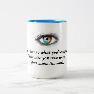 Sehen Sie, was Sie über Tasse schreiben