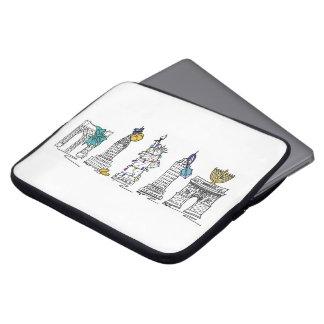 Sehenswürdigkeiten New York City Chanukka NYC Laptop Sleeve