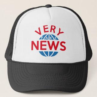 Sehr Fake-Nachrichten Truckerkappe