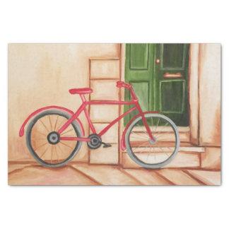 Seidenpapier des Fahrrad-Ölgemälde-10lb, weiß