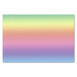 Seidenpapier - Regenbogen-Streifen (hrz)