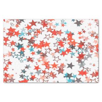 Seidenpapier Weihnachten spielt rotes weißes Blau