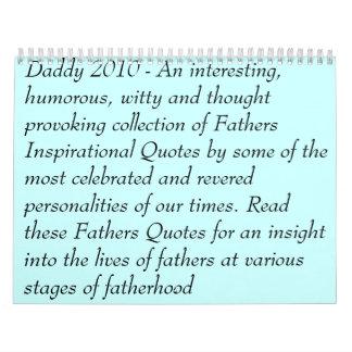 """""""Seien Sie ein Vater-"""" Kalender"""