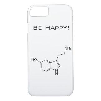 Seien Sie glücklich! Serotonin iPhone 7 Fall iPhone 8/7 Hülle