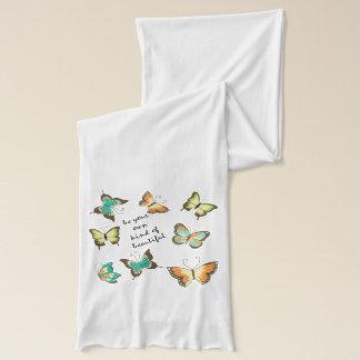 Seien Sie Ihre eigenen schönen Schmetterlinge Schal