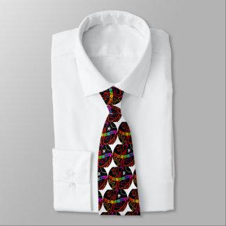 Seien Sie kosmische Liebe Bedruckte Krawatte