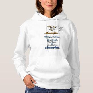 seien Sie Meistertennis mit Kapuze Sweatshirt