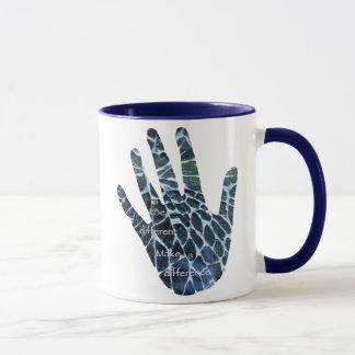 Seien Sie unterschiedliche Tasse