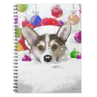 Sein Anfang, zum wie Weihnachten viel auszusehen Spiral Notizblock