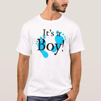 Sein ein Junge - Baby, neugeboren, Feier T-Shirt