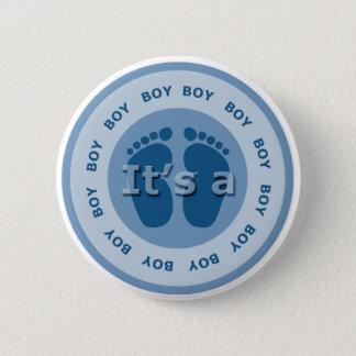 sein ein Junge Runder Button 5,7 Cm