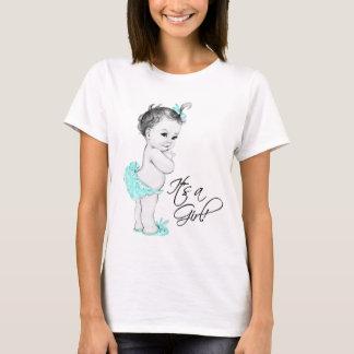 Sein ein Mädchen-Schwangerschafts-T - Shirt