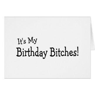 Sein mein Geburtstag Grußkarte