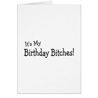 Sein mein Geburtstag Karte