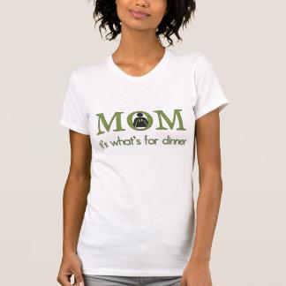Seine Mamma, was für Abendessen ist T-Shirt