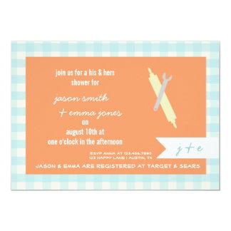 Seine u. ihre Polterabend-Einladung 12,7 X 17,8 Cm Einladungskarte
