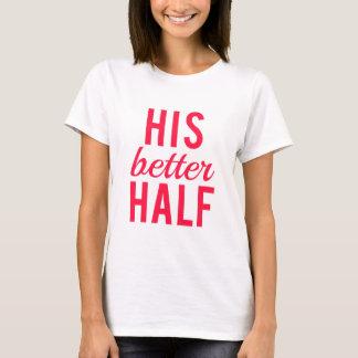 Seine Wortkunst der besseren Hälfte, Textentwurf T-Shirt