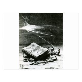 Seite der Geschichte, Bestrafungen von Victor Hugo Postkarte