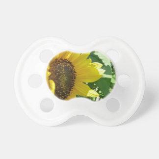 Seitlich Sonnenblume Schnuller