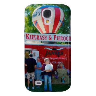 Selbst gemachtes Kielbasy und Pierogies Galaxy S4 Hülle