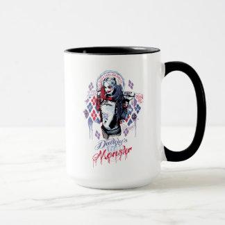 Selbstmord-Gruppe   Harley Quinn schwärzte Tasse