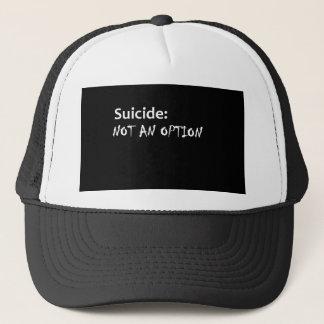 Selbstmord nicht eine Wahl Truckerkappe