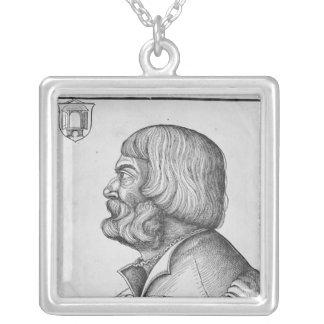 Selbstporträt, 1527 versilberte kette