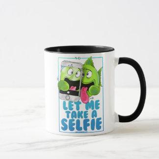 Selfie Fisch-Tasse Tasse