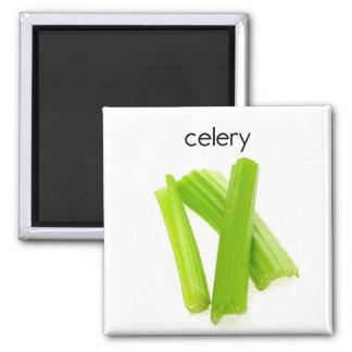 Sellerie-Kühlschrank-Magnet Quadratischer Magnet