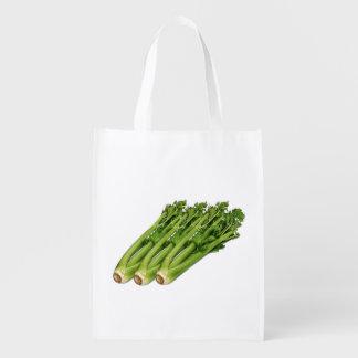 Sellerie-wiederverwendbare Tasche Wiederverwendbare Einkaufstasche