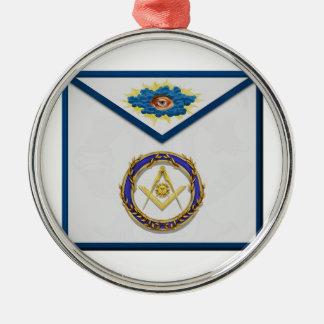 seniordeaconMasonic ältere Diakon Apronapron Silbernes Ornament