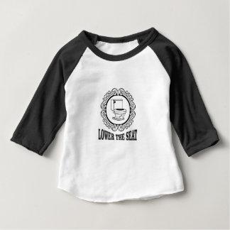 senken Sie den Sitz Baby T-shirt