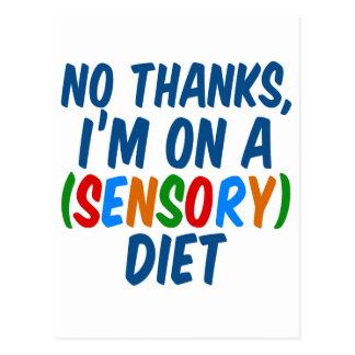 Sensorische Diät Postkarte