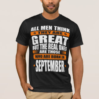 September-Geburtstag T-Shirt