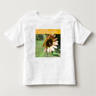 September-Sonnenblume-T-Stück Kleinkinder T-shirt