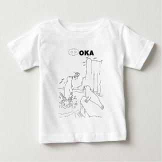 Serbianschrift-Siegel Baby T-shirt