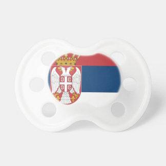 Serbien-Flagge Schnuller
