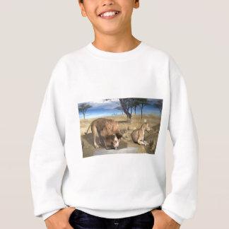 Serengeti Löwen Sweatshirt