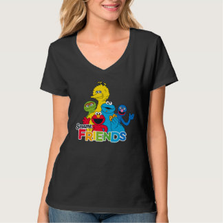 Sesam-Freunde des Sesame Street-  T-Shirt